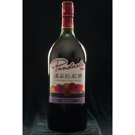 潘朵拉紅酒_葡萄酒 12度 1500ml